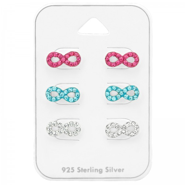 Set & Jewelry on Card CC-APS1419X3 RO/AQ/CRY/38733