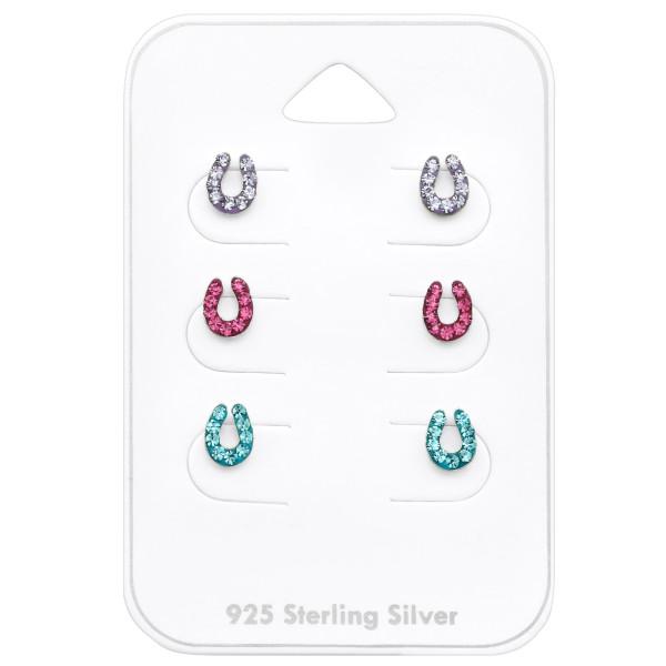 Set & Jewelry on Card CC-APS1504 X3 VIO/ROS/AQ/32376