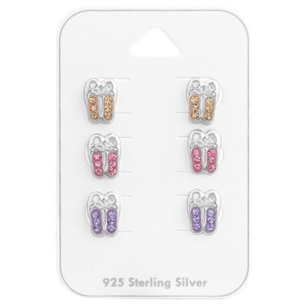 Set & Jewelry on Card CC-APS1535X3 LT.PEACH/LT.ROSE/VIO/38080