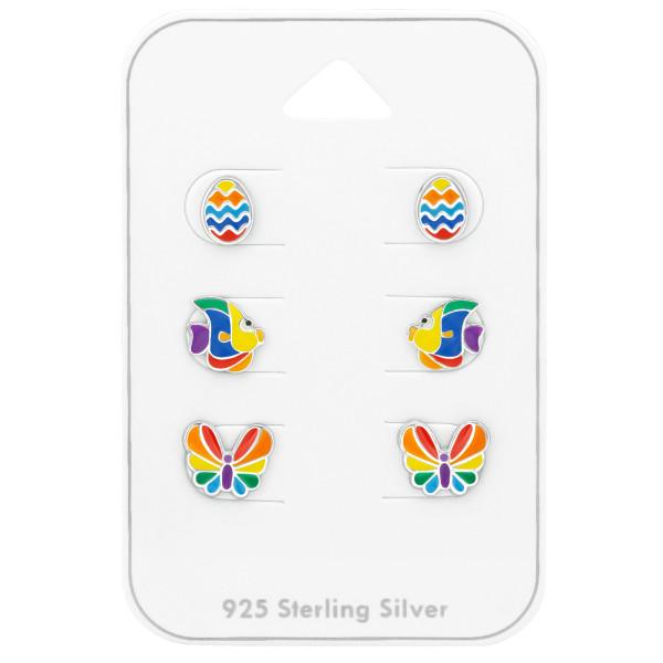 Set & Jewelry on Card ES-APS1878 MIX/ES-APS1554 RB/ES-APS1548 RB/38724