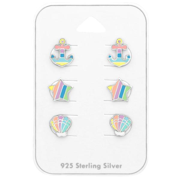 Set & Jewelry on Card ES-APS2193-PASTEL/ES-APS1767-PASTEL/ES-APS1553-1/38717