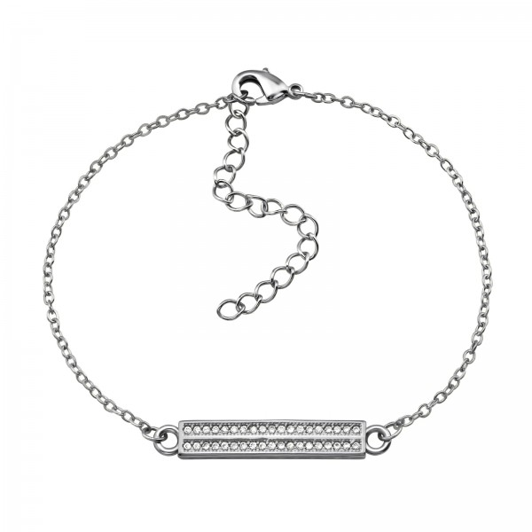 Bracelet & Necklace SBR-1080 SI/34280