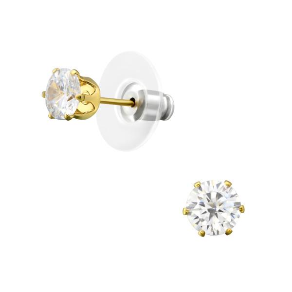 Earrings & Studs LJE-17247-GD/35955