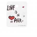 Love is in The Air Ear Stud Cards, #34087