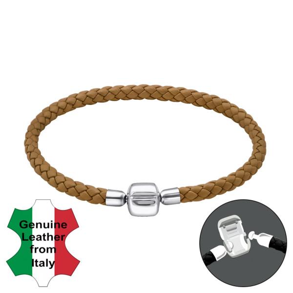 Bead Bracelet BDBR-RD-19CM-COGNAC/31163
