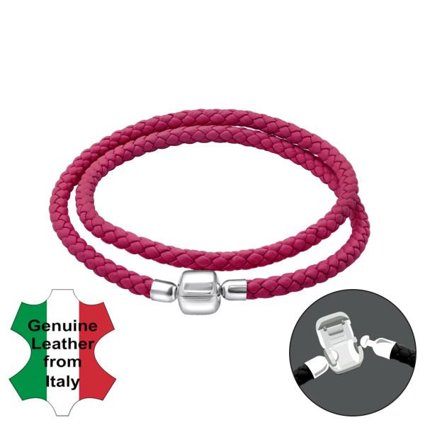 Bead Bracelet BDBR-RD-38CM-FUSHSIA/35635