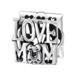 Silver Love Mum Bead, #13791