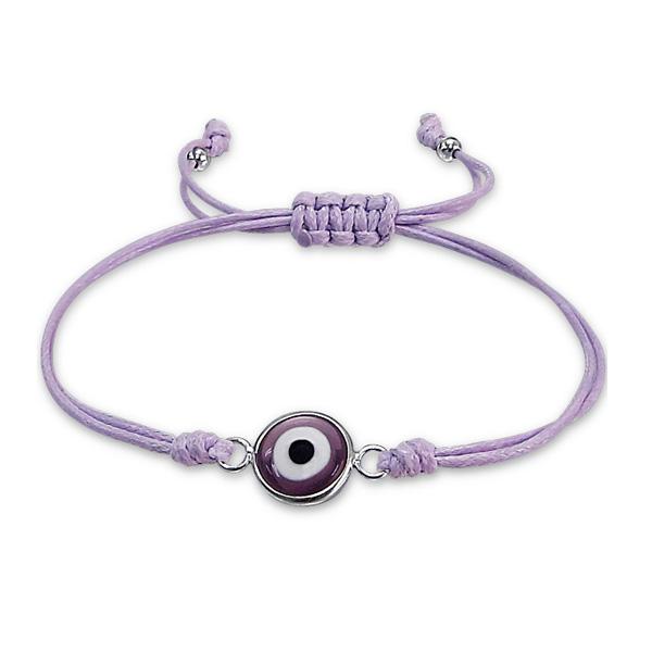 Corded Bracelet CDBR-EVE-BD10X4 SB PUR/17337