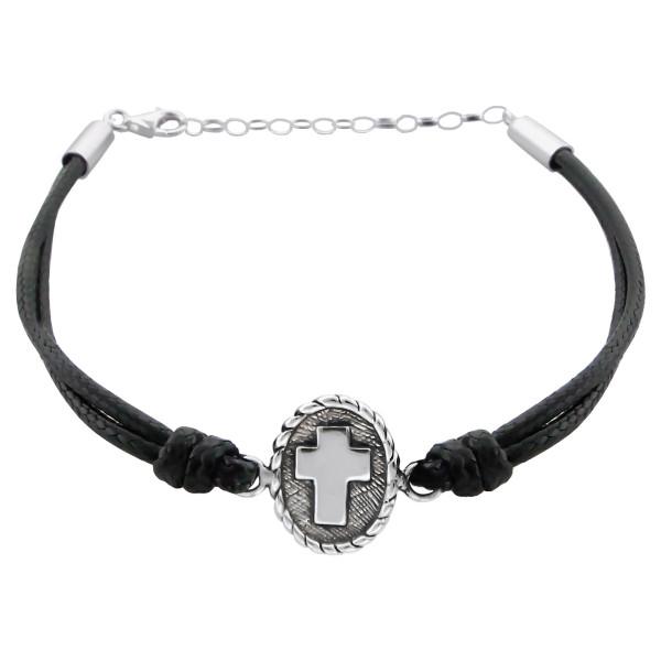 Corded Bracelet CDBR-JB3409 OX  BK/17303