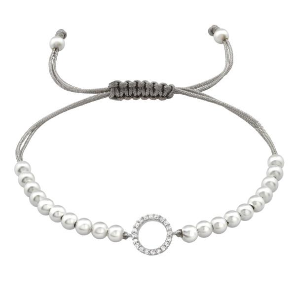 Corded Bracelet CDBR1-PPL4x22-BR-JB5440/33432