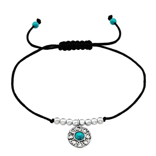 Corded Bracelet CDBR1-TOP-JB7486-OX-SB3-TQ/36852
