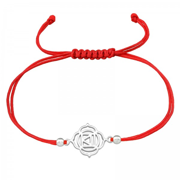 Corded Bracelet CDBR2-JB10300-SB3X2 BRIGHT RED/38998
