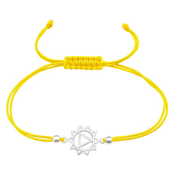 Corded Bracelet CDBR2-JB10303-SB3X2 YELLOW/39891
