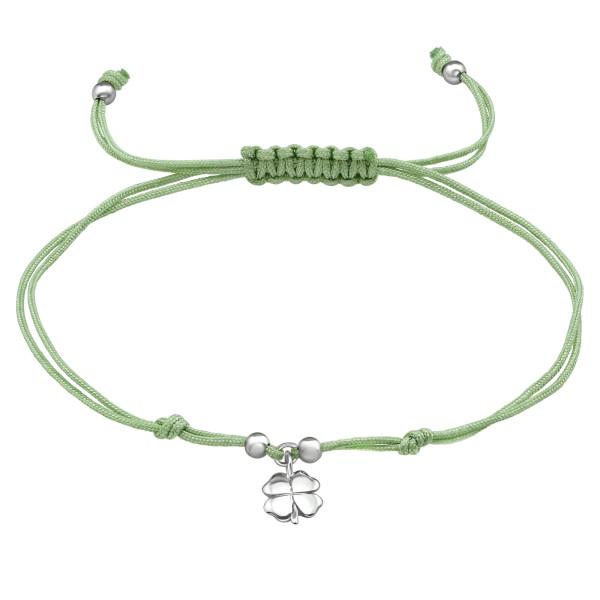 Corded Bracelet CDBR2-JB6263-SB3X4 RP LT.JADE GREEN/39670