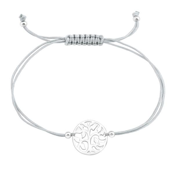 Corded Bracelet CDBR2-JB7535-SB3X4 LT.GREY/39005