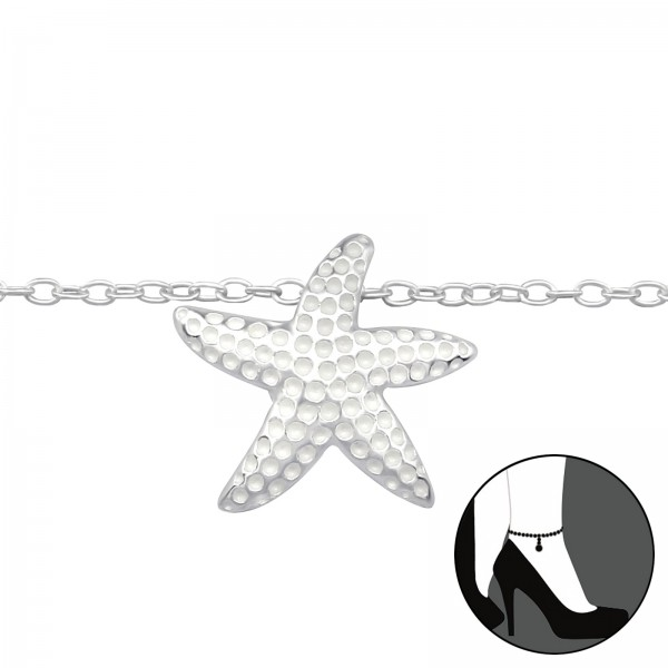 Silver Anklet FORZ25-ANK-BH-JB7354/27641