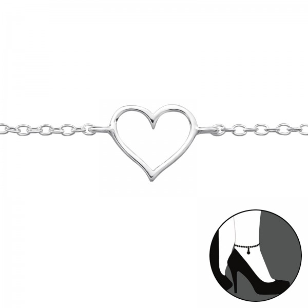 Silver Anklet FORZ25-ANK-JB3748/23955
