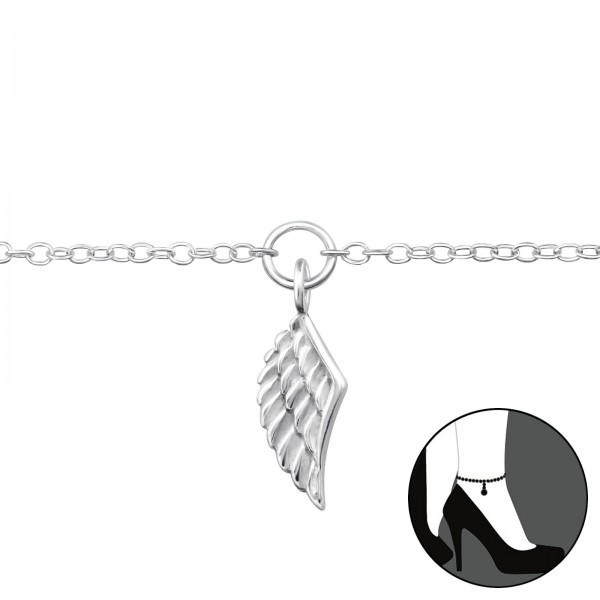 Silver Anklet FORZ25-ANK-JB5422/29971