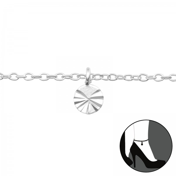 Silver Anklet FORZ25-ANK-TOP-CCRD-4M-DC01 FL/39256