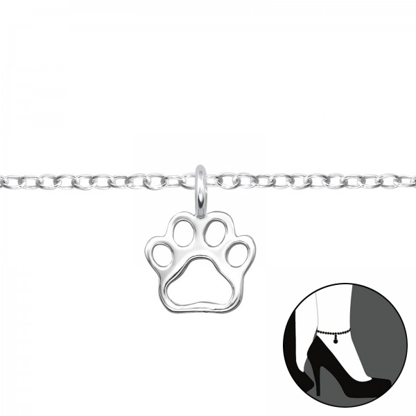 Silver Anklet FORZ25-ANK-TOP-JB6084/31116