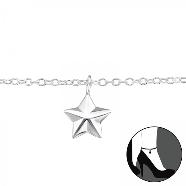 Silver Anklet FORZ25-ANK-TOP-JB6407/31578