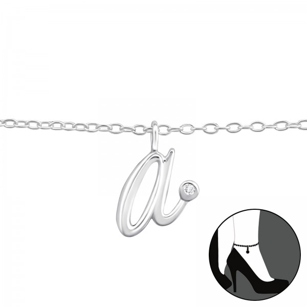 Silver Anklet FORZ25-ANK-TOP-JB8824/36610