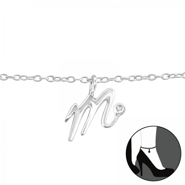 Silver Anklet FORZ25-ANK-TOP-JB8825/36611