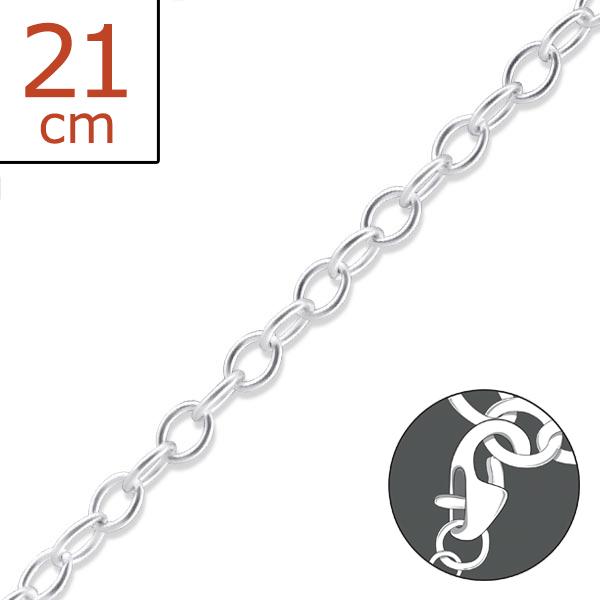 Charm Bracelet CHBR-CBLB080-21CM/21235