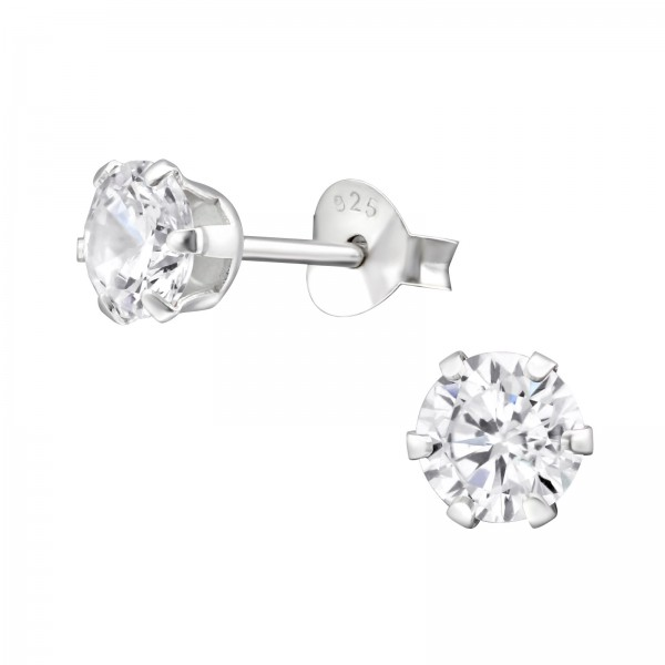 Basic Ear Studs ESA-R5-6P/14832