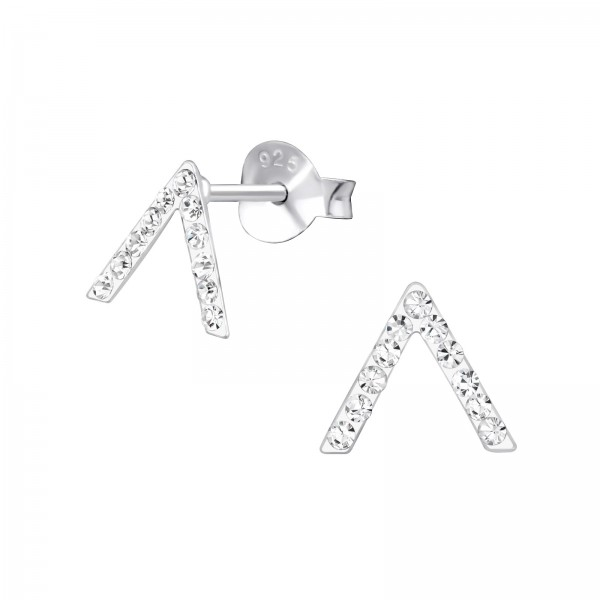 Crystal Ear Studs CC-APS4716/33254