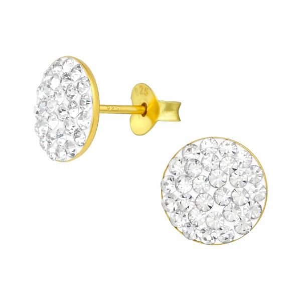 Crystal Ear Studs CCRD-42 GP (PP-9)/39315