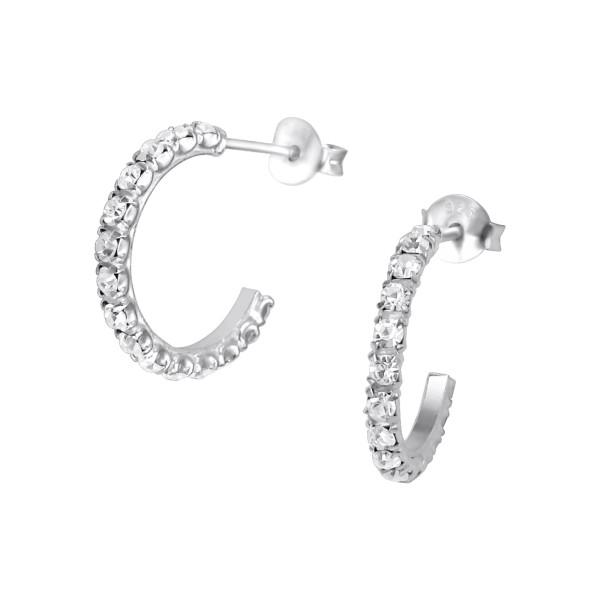 Crystal Ear Studs CHRD-15/10797