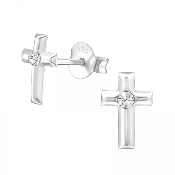 Crystal Ear Studs ES-APS1768/22341