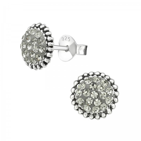 Crystal Ear Studs ES-APS2067 OX/39951