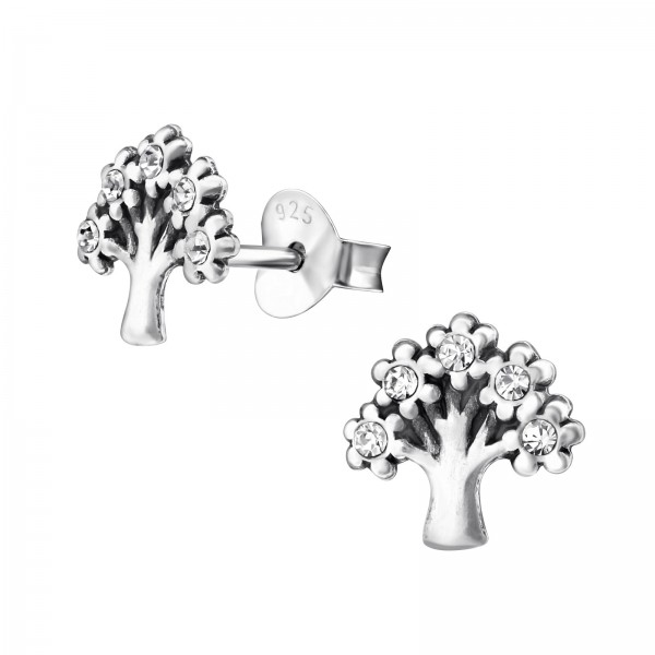 Crystal Ear Studs ES-APS2638 OX/31175