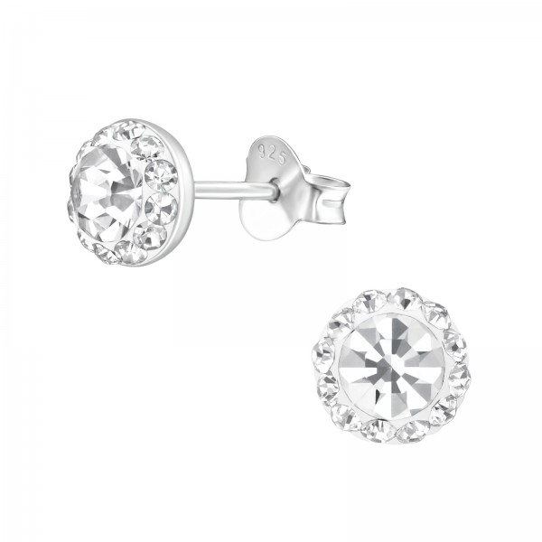 Crystal Ear Studs ES-APS2685-V2/39188