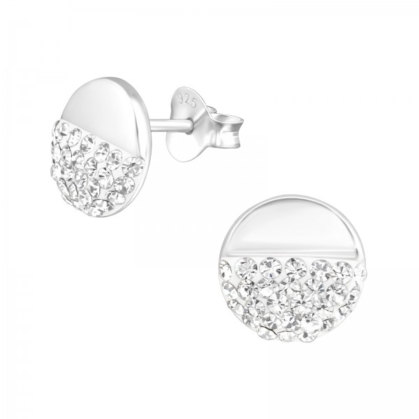 Crystal Ear Studs ES-APS2732/38285