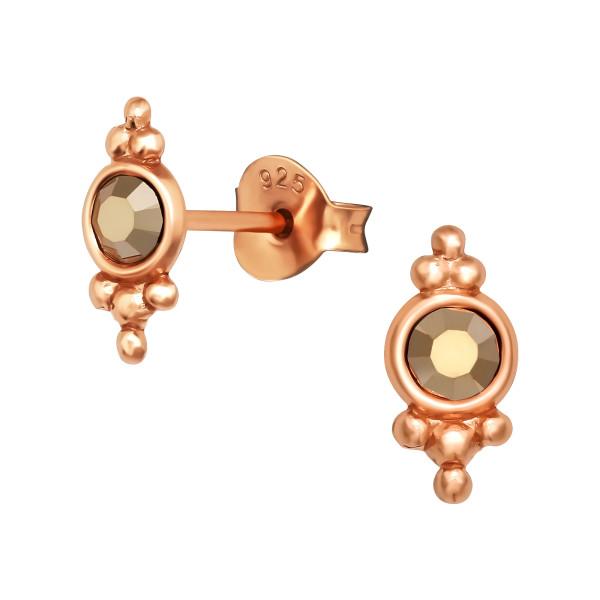 Crystal Ear Studs ES-APS2770 RGP/40990