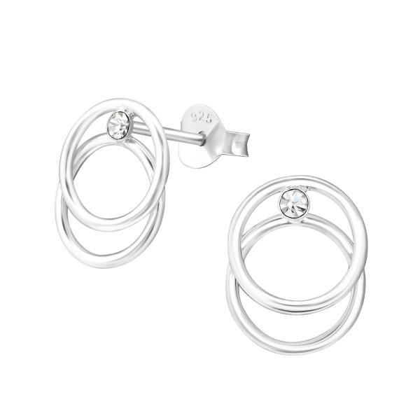 Crystal Ear Studs ES-APS3024/37255