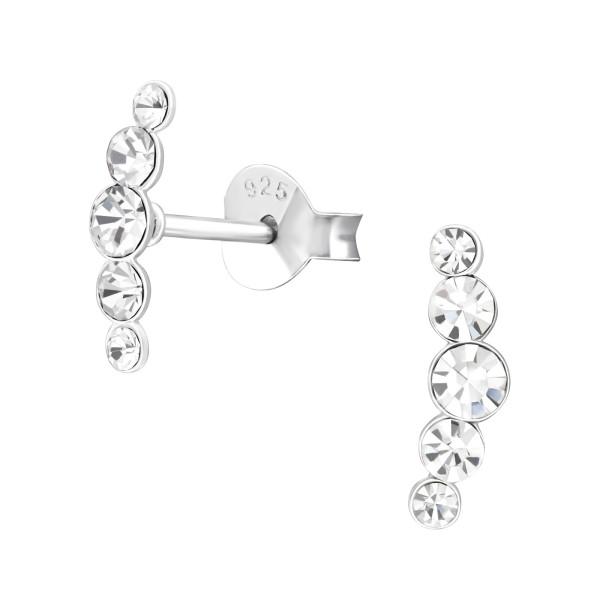 Crystal Ear Studs ES-APS3059/37084