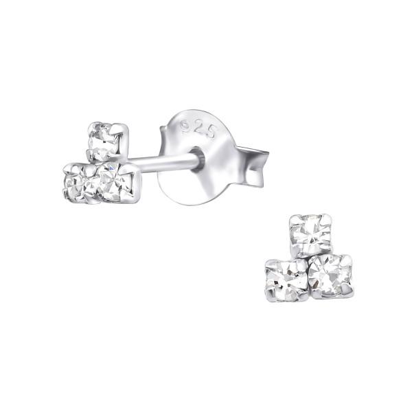 Crystal Ear Studs ES-APS3202/33958