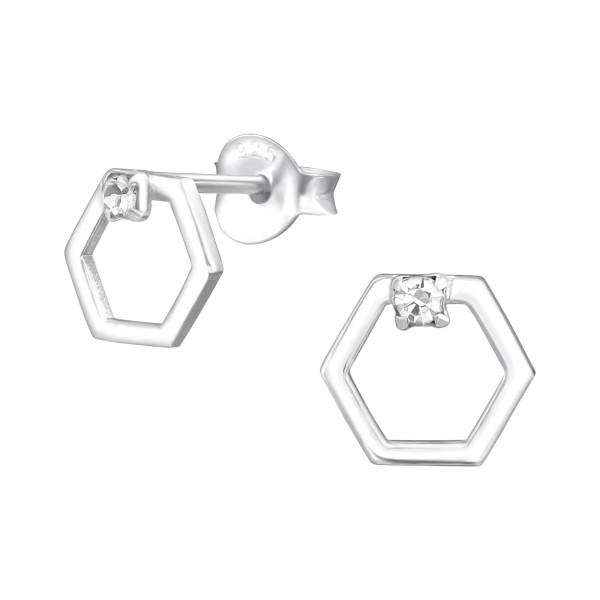 Crystal Ear Studs ES-APS3292-A-0.8M-ESJ12/37937