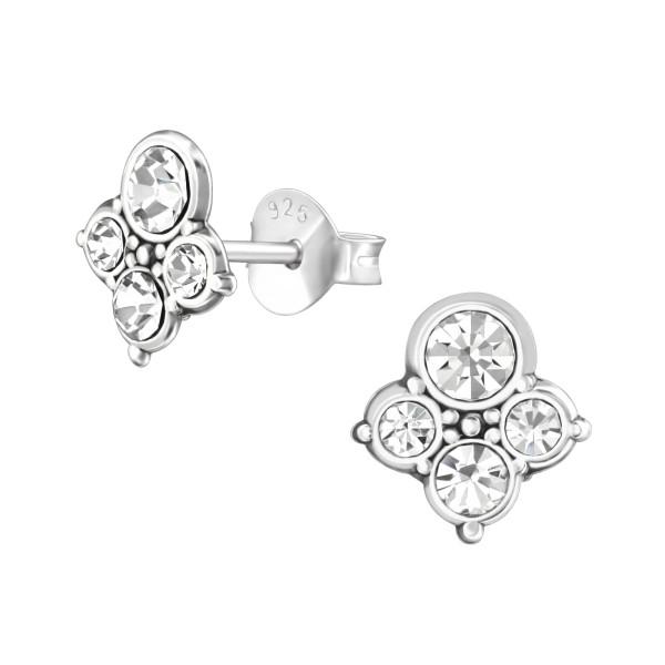 Crystal Ear Studs ES-APS3377 OX/37018