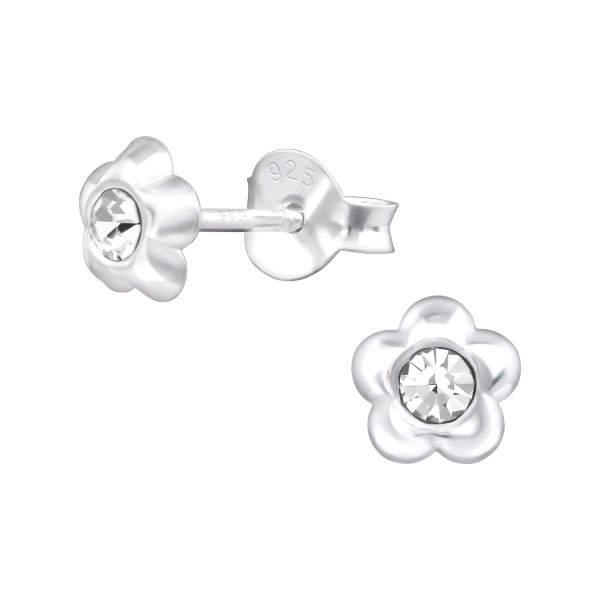 Crystal Ear Studs ES-APS4044/38351