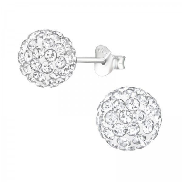 Crystal Ear Studs ES-FB8 (PP-12)/39283