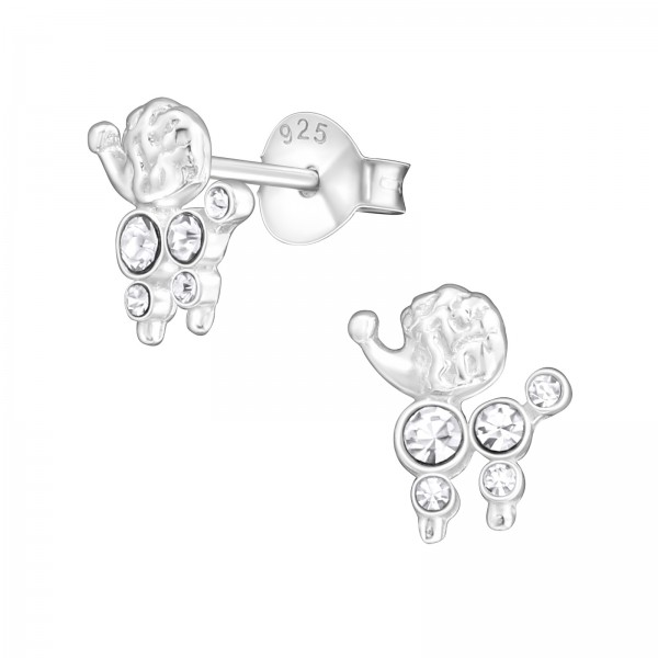 Crystal Ear Studs ES-JB5646/17466
