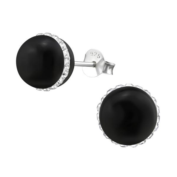 Crystal Ear Studs ES-PBD-8/34570