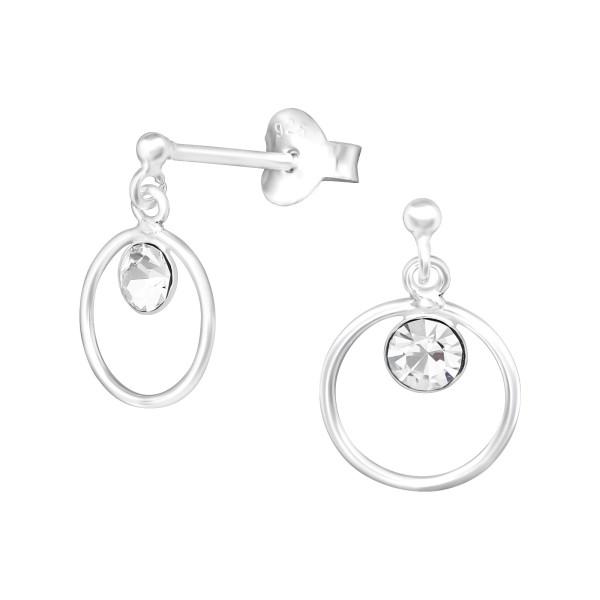 Crystal Ear Studs ESSB-1.5-HP-APS2143-ES04/17891