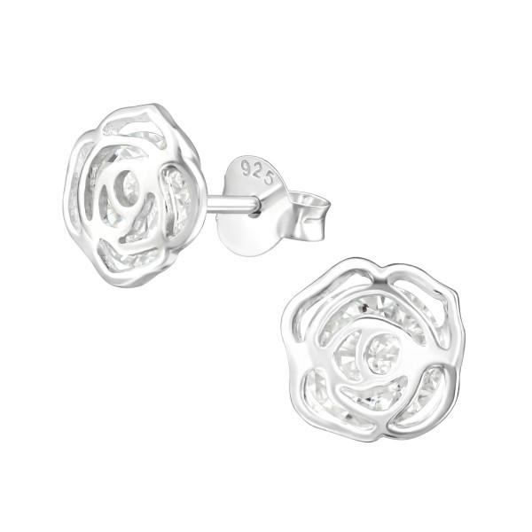 Cubic Zirconia Ear Studs ES-JB10067/39034