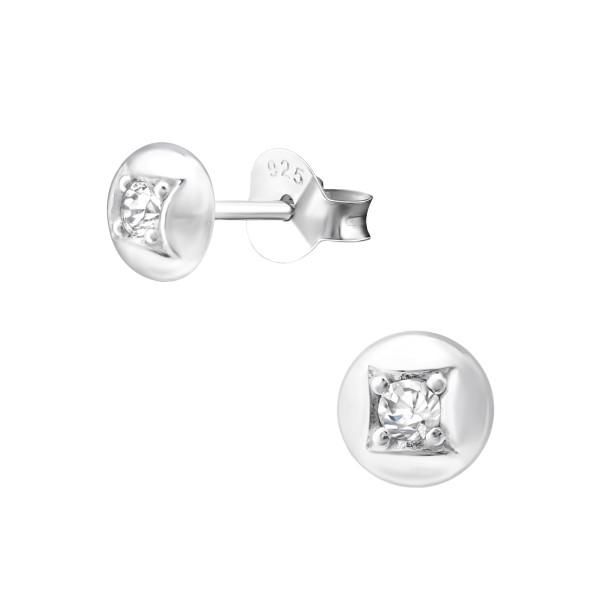 Cubic Zirconia Ear Studs ES-JB10071/33849